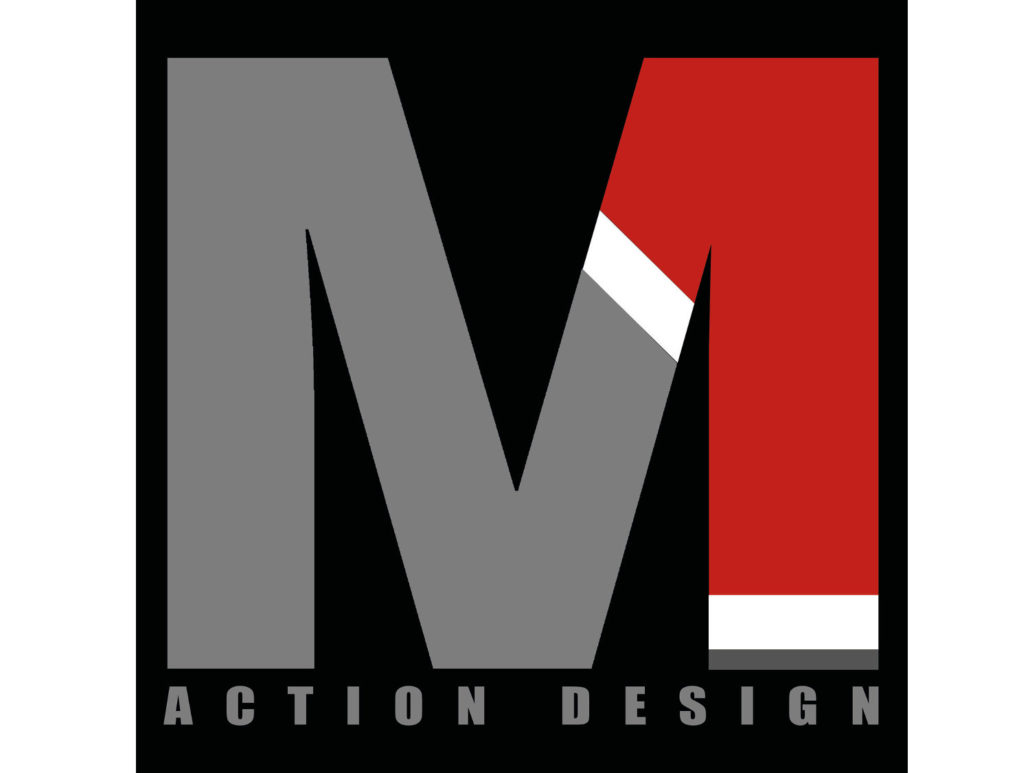 M1 ACTION DESIGN logo