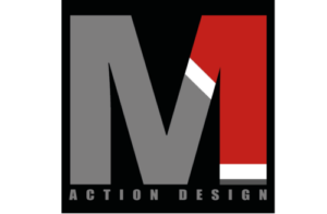 m1 action design logo